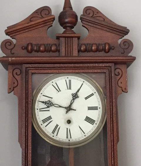 old vintage clock - too much time!