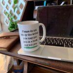 This coffee mug is…
